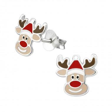 Reindeer - 925 Sterling Sil...