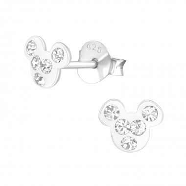 Mouse - 925 Sterling Silver...