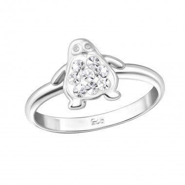 Penguin - 925 Sterling Silv...