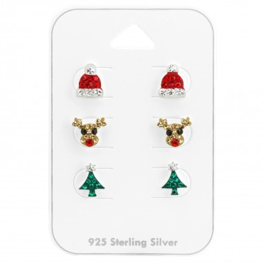 Christmas - 925 Sterling Si...