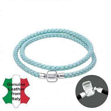 Plain - Leather Cord Bracel...