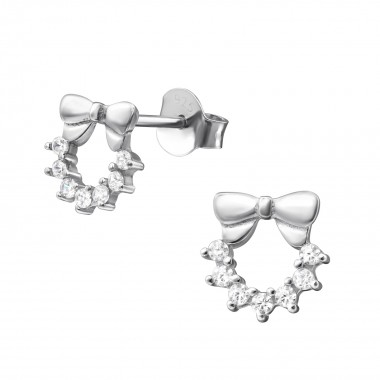 Bow - 925 Sterling Silver S...