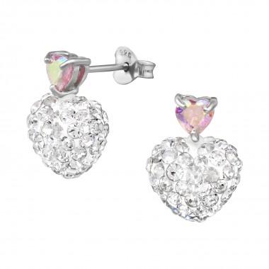 Crystal Heart - 925 Sterlin...