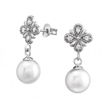 Flower Hanging Pearl - 925 ...