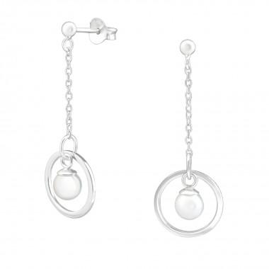 Hanging Pearl - 925 Sterlin...