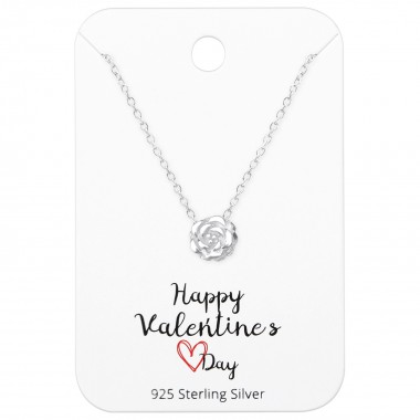 Rose Necklaces On Happy Val...