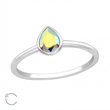 Pear - 925 Sterling Silver ...