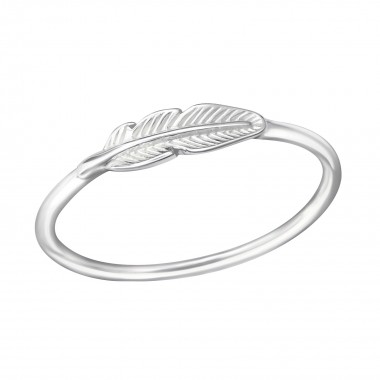 Feather - 925 Sterling Silv...