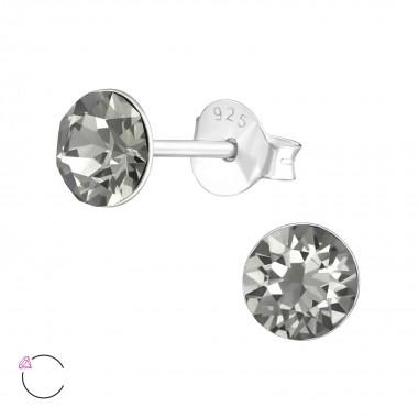Round - 925 Sterling Silver...